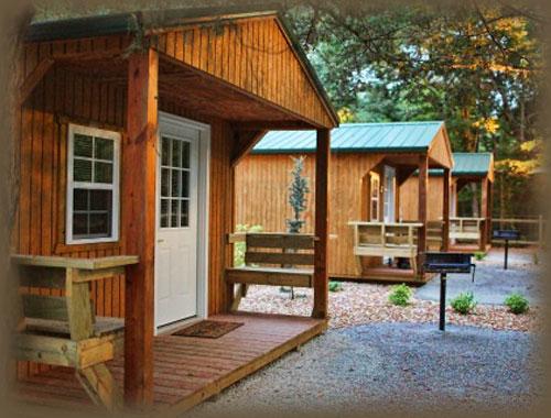 Romantic Cabins Dawt Mill